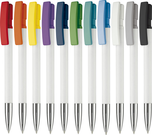 Relatiegeschenk Toppoint Pen Nash Metal Colour bedrukken