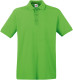 Fruit of the Loom Premium Polo Heren - Lime