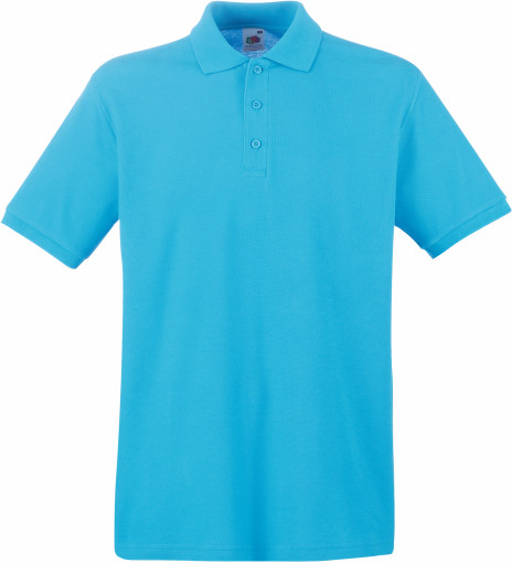 Relatiegeschenk Fruit of the Loom Premium Polo Heren bedrukken