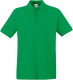 Fruit of the Loom Premium Polo Heren - Kelly green