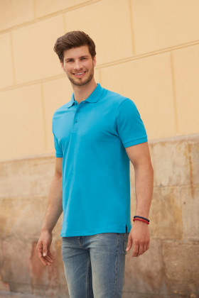 Relatiegeschenk Fruit of the Loom Premium Polo Heren