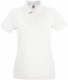 Fruit of the Loom Premium Polo Dames - Wit