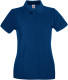 Fruit of the Loom Premium Polo Dames - Blauw