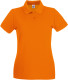 Fruit of the Loom Premium Polo Dames - Oranje