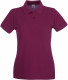 Fruit of the Loom Premium Polo Dames - Bordeaux