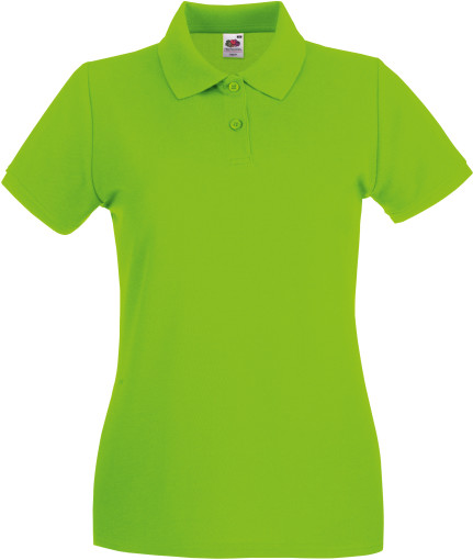 Relatiegeschenk Fruit of the Loom Premium Polo Dames bedrukken