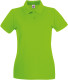 Fruit of the Loom Premium Polo Dames - Lime