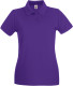 Fruit of the Loom Premium Polo Dames - Paars