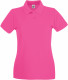 Fruit of the Loom Premium Polo Dames - Fuchsia