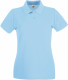 Fruit of the Loom Premium Polo Dames - Sky blue