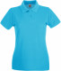 Fruit of the Loom Premium Polo Dames - Azuurblauw