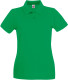 Fruit of the Loom Premium Polo Dames - Kelly green