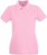 Fruit of the Loom Premium Polo Dames - Light pink