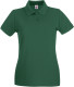 Fruit of the Loom Premium Polo Dames - Bottle green