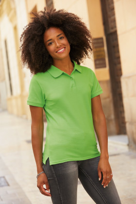 Relatiegeschenk Fruit of the Loom Premium Polo Dames