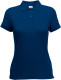 Fruit of the Loom 65/35 Polo Dames - Blauw