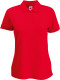 Fruit of the Loom 65/35 Polo Dames - Rood