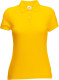 Fruit of the Loom 65/35 Polo Dames - Sunflower yellow