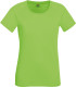 Fruit of the Loom Performance t-shirt Dames - Lime