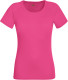Fruit of the Loom Performance t-shirt Dames - Fuchsia