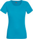 Fruit of the Loom Performance t-shirt Dames - Azuurblauw