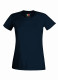 Fruit of the Loom Performance t-shirt Dames - Deep navy