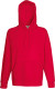 Fruit of the Loom Lightweight Hoodie Heren - Rood