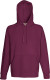 Fruit of the Loom Lightweight Hoodie Heren - Bordeaux