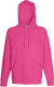 Fruit of the Loom Lightweight Hoodie Heren - Fuchsia