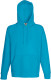 Fruit of the Loom Lightweight Hoodie Heren - Azuurblauw