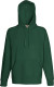 Fruit of the Loom Lightweight Hoodie Heren - Bottle green