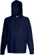 Fruit of the Loom Lightweight Hoodie Heren - Deep navy