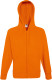 Fruit of the Loom Lightweight Hooded Vest Heren - Oranje