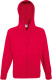 Fruit of the Loom Lightweight Hooded Vest Heren - Rood