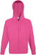 Fruit of the Loom Lightweight Hooded Vest Heren - Fuchsia