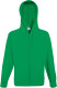 Fruit of the Loom Lightweight Hooded Vest Heren - Kelly green