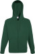Fruit of the Loom Lightweight Hooded Vest Heren - Bottle green