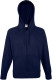 Fruit of the Loom Lightweight Hooded Vest Heren - Deep navy