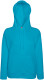 Fruit of the Loom Lightweight Hoodie Dames - Azuurblauw