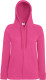 Fruit of the Loom Lightweight Hooded Vest Dames - Fuchsia