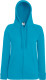 Fruit of the Loom Lightweight Hooded Vest Dames - Azuurblauw