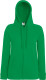 Fruit of the Loom Lightweight Hooded Vest Dames - Kelly green