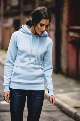 Relatiegeschenk Russell Authentic hooded sweater Dames