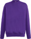Fruit of the Loom Lightweight Sweater Heren - Paars
