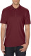 Gildan Double Pique Polo Heren - Maroon