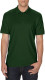 Gildan Double Pique Polo Heren - Forest green