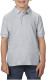 Gildan Double Pique Polo Kids - Sport grey