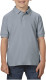 Gildan Double Pique Polo Kids - Charcoal