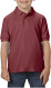 Gildan Double Pique Polo Kids - Maroon