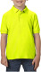 Gildan Double Pique Polo Kids - Fluo groen